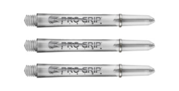 Target Pro Grip Polycarbonate Shafts - Clear Medium