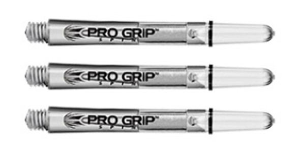 Target Pro Grip Spinning Polycarbonate - Clear Medium