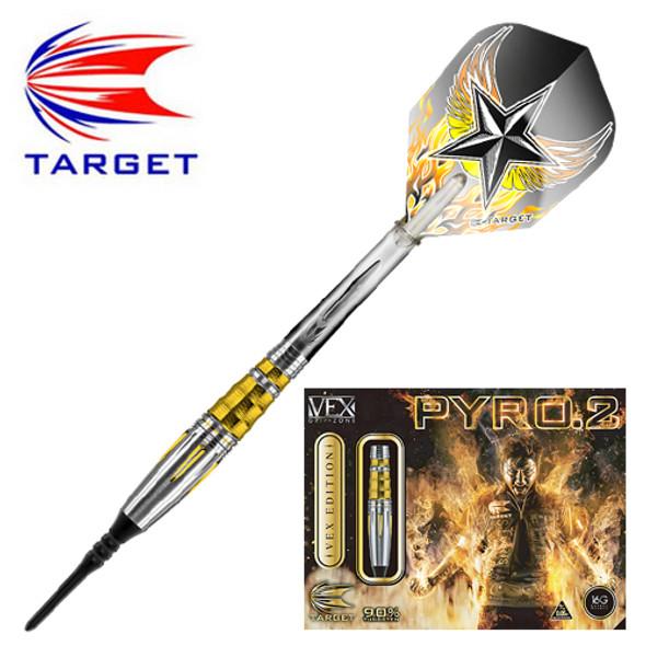 Target PYRO Gen 2 Hoshino Soft Tip Darts - 16g
