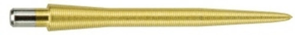 Target Storm Titanium Nano 30mm Steel Tip Replacement Points - Gold, 108392