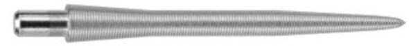 Target Storm Titanium Nano 30mm Steel Tip Replacement Points - Silver, 108391