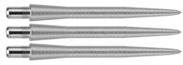 Target Storm Titanium Nano 30mm Steel Tip Points - Silver