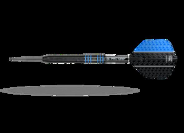 Target Vapor-8 Black Red Steel Tip Darts - 22g - 80% Tungsten, 100437, Pro Grip Shafts, Vision Ghost Flights, Blue, Fixed Point, Vision Ultra Flights