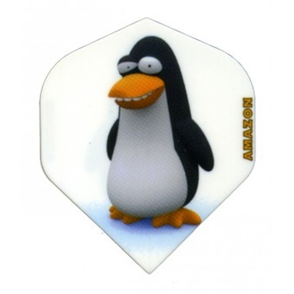 "AMAZON CARTOON DART FLIGHTS STANDARD ""PENGUIN"" AZC-12"