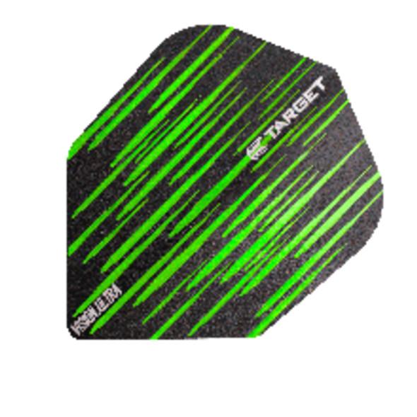 Target Vision Ultra Spectrum Green Small Standard Dart Flights, 332170, NO6, No6, NO 6, No 6, Shape