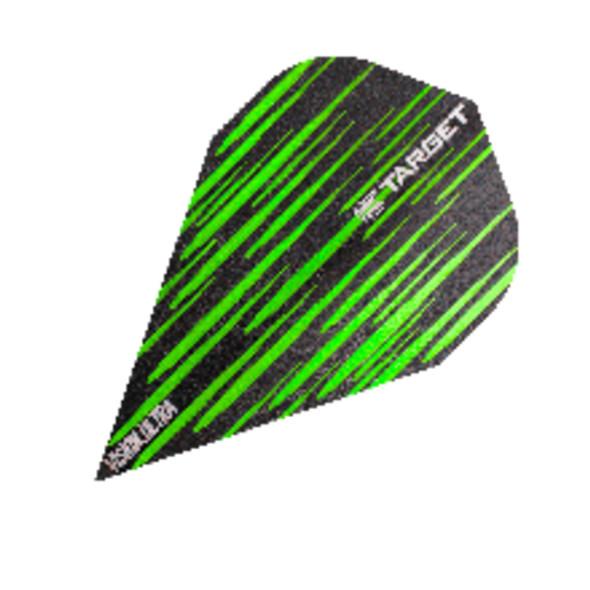 Target Vision Ultra Spectrum Green Vapor Dart Flights, 332350