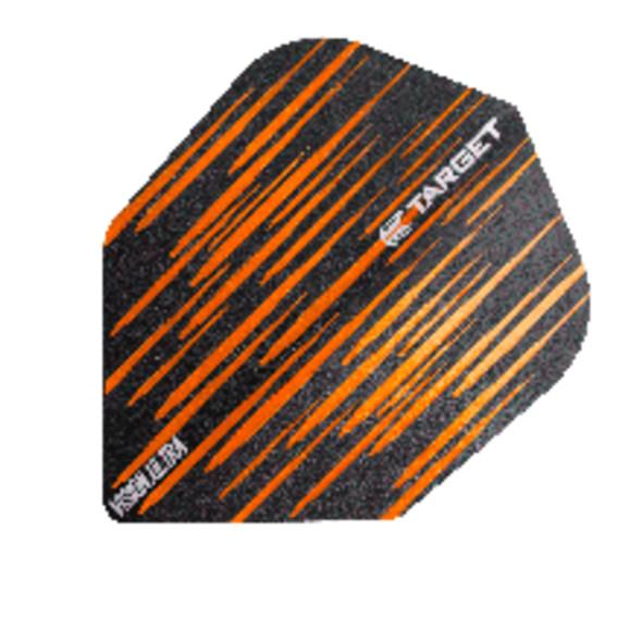 Target Vision Ultra Spectrum Orange Small Standard Dart Flights, 332200, NO6, No6, NO 6, No 6, Shape
