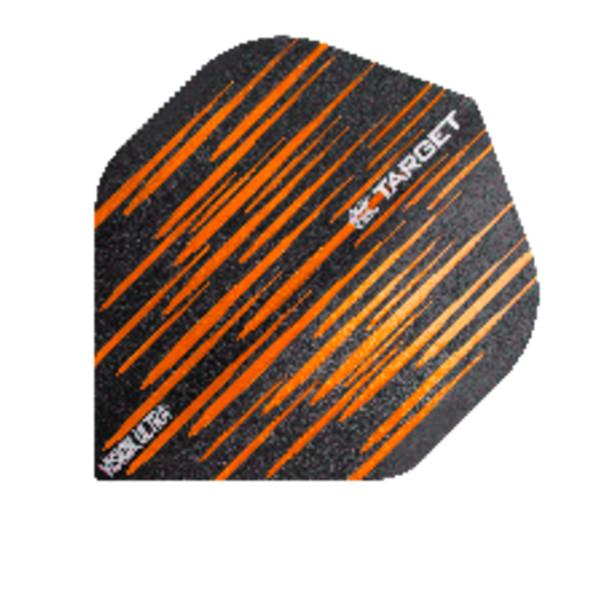 Target Vision Ultra Spectrum Orange Standard Dart Flights, 332320, NO2, No2, NO 2, No 2