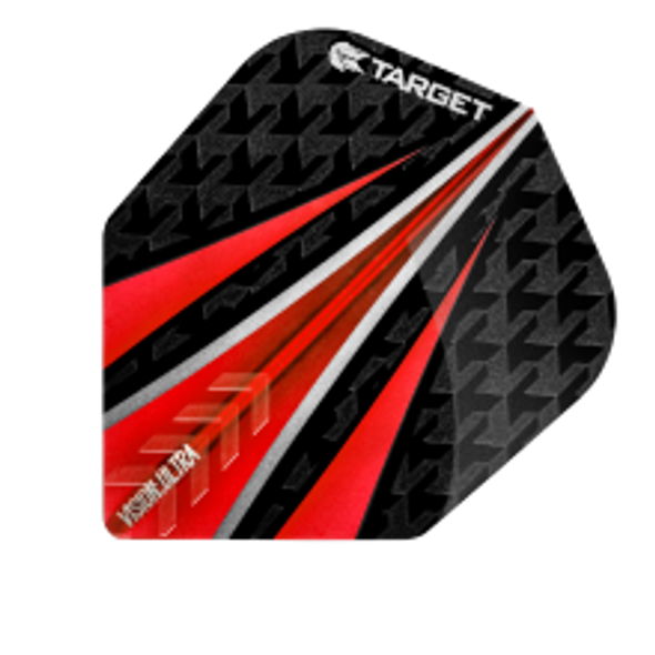 Target Vision Ultra Three Fin - Red Shape