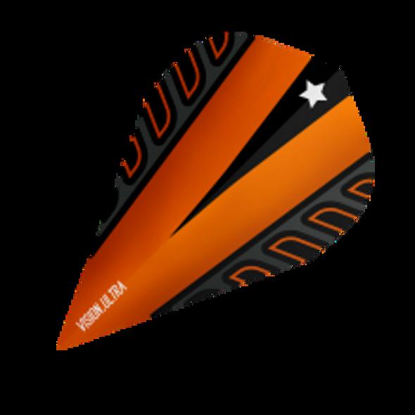 Target Vision Ultra Voltage Rob Cross Vapor Dart Flights - Orange, 333370