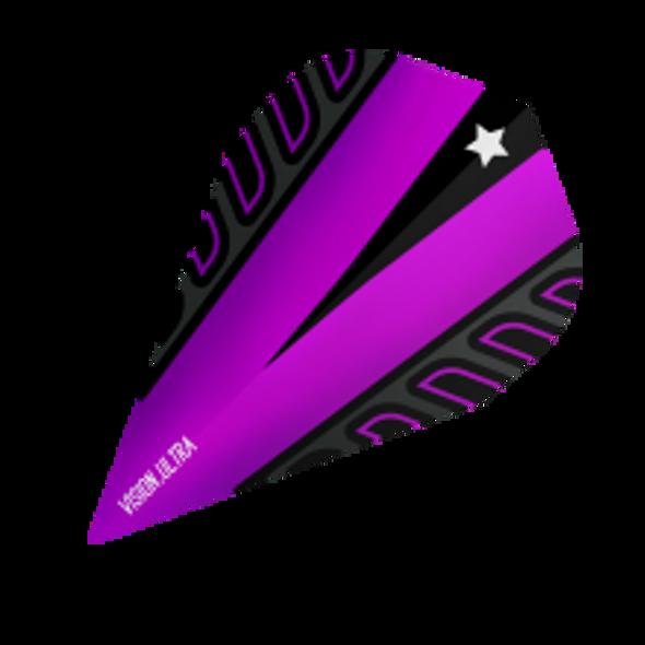 Target Vision Ultra Voltage Rob Cross Vapor Dart Flights - Purple, 333410
