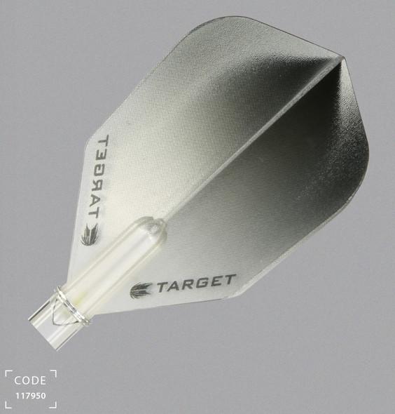 Target Vision Vignette Black Dart Flights - Shape