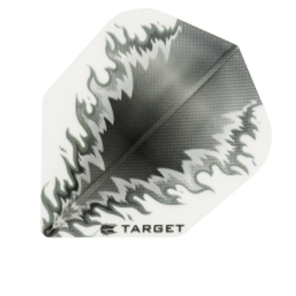 Target Vision White Black Mirror Flame - Shape