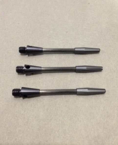 Short titanium dart shafts