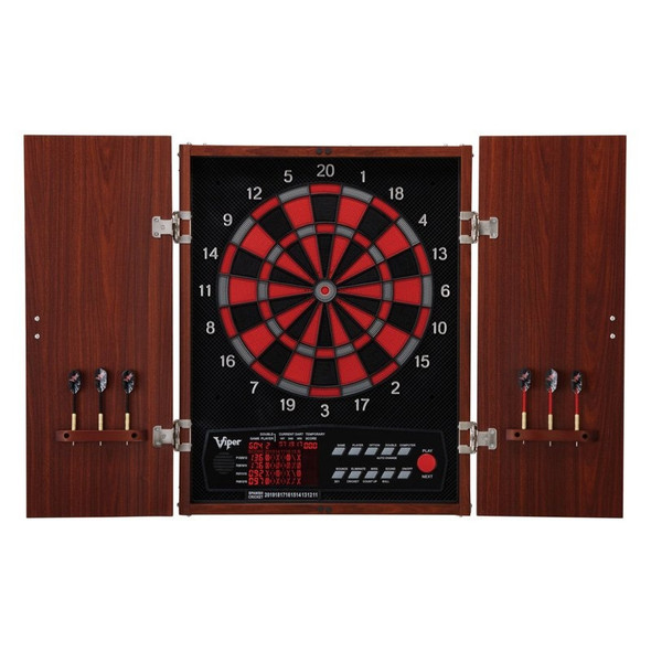 Viper Neptune Electronic Dartboard with cabinet