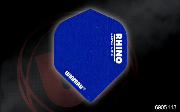 Winmau Rhino Long Life Extra Thick Standard Flights - 6905.114, Pink
