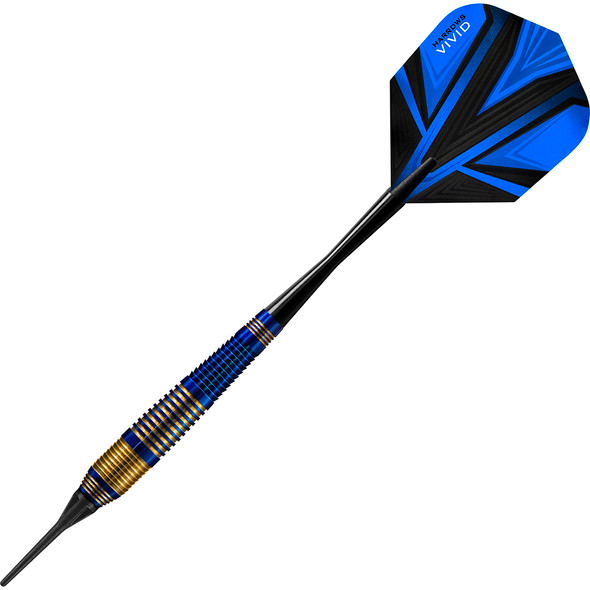 Harrows Vivid Soft Tip Darts - Blue 18gm