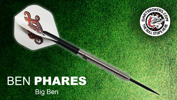 Ben Phares  Big Ben Steel Tip Darts by Shot