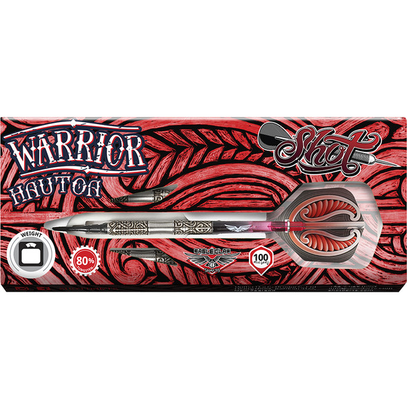Shot Warrior HAUTOA Series Soft Tip Darts - 20g