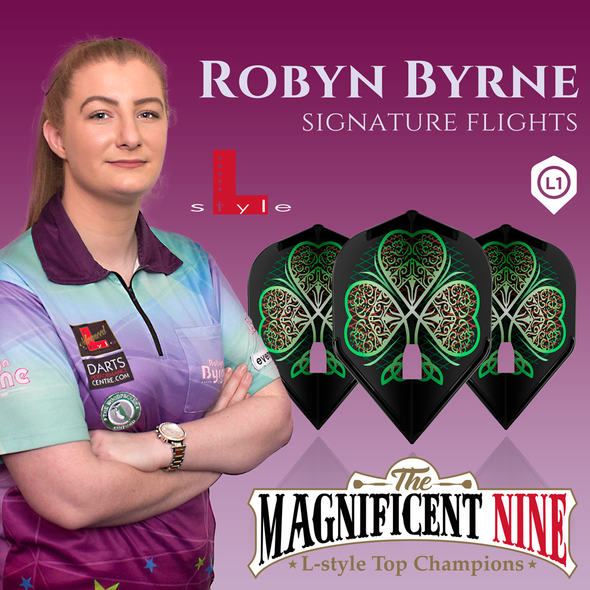 L-style Champagne Robyn Byrne Flights - Standard L1c