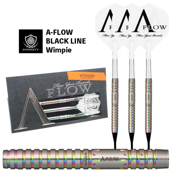 Dynasty A-Flow WIMPIE 2ba Soft Tip Darts - 18g