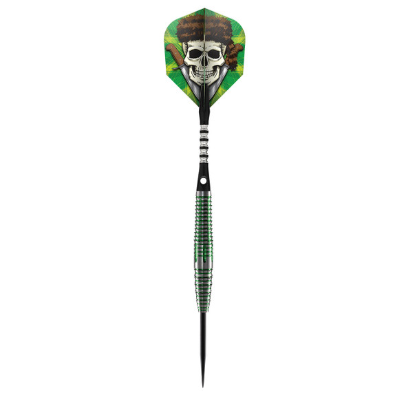 Shot Wild Frontier Trapper - Steel Tip Darts - 24 Front Weighted