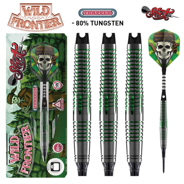 Shot Wild Frontier Trapper - Soft Tip Darts - 18 Front Weighted