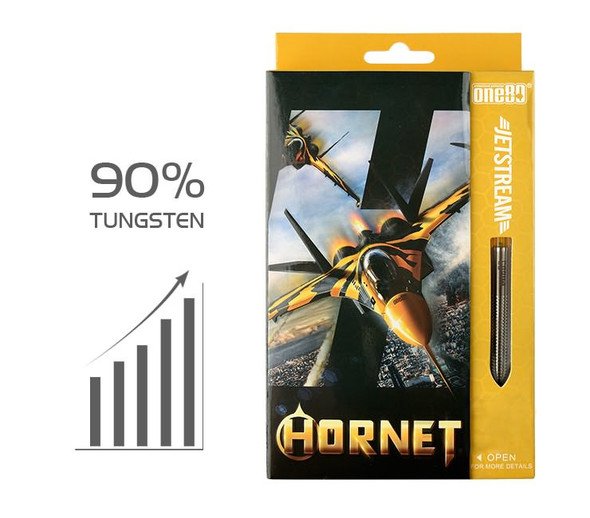 ONE80 Jetstream Hornet Steel Tip Darts - 23g