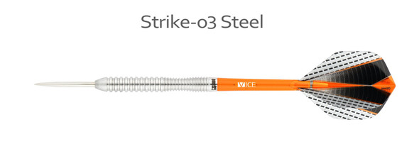 ONE80 Strike 03 - 80% Tungsten Steel Tip Darts 22g