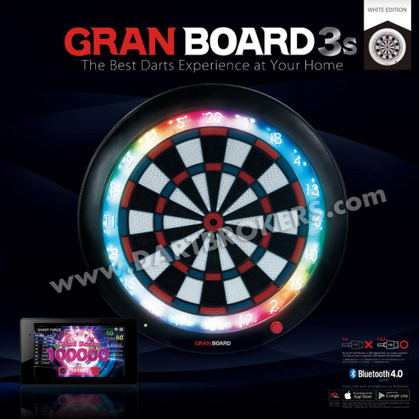 GRAN BOARD 3s - Limited Edition WHITE