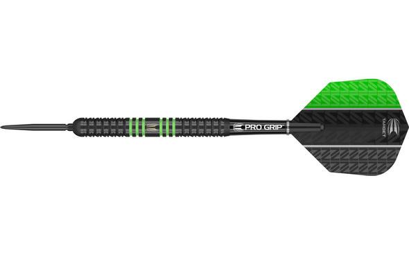 Target Vapor8 Black Green Swiss Point - 26g