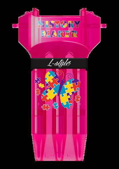 L-Style Krystal ONE Dart Case -Fallon Sherrock The History Maker - Pink