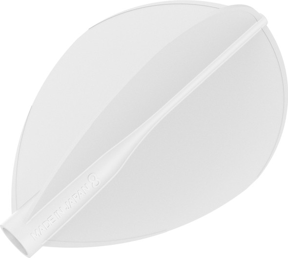 Target 8 Flight White Teardrop