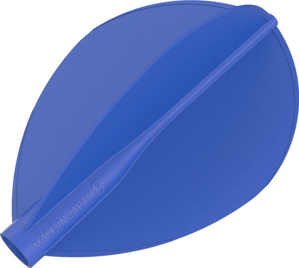 Target 8 Flight Blue Teardrop