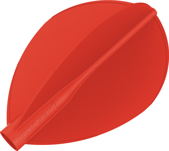 Target 8 Flight Red Teardrop