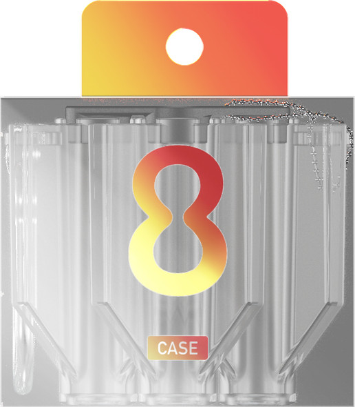 Target 8 FLIGHT CASE CLEAR