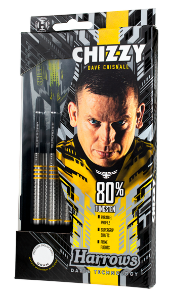 Harrows CHIZZY 80% Soft Tip Darts 18g