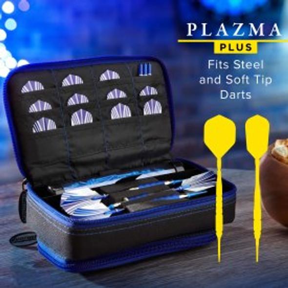 Casemaster Plazma Plus Dart Case Black & Sapphire