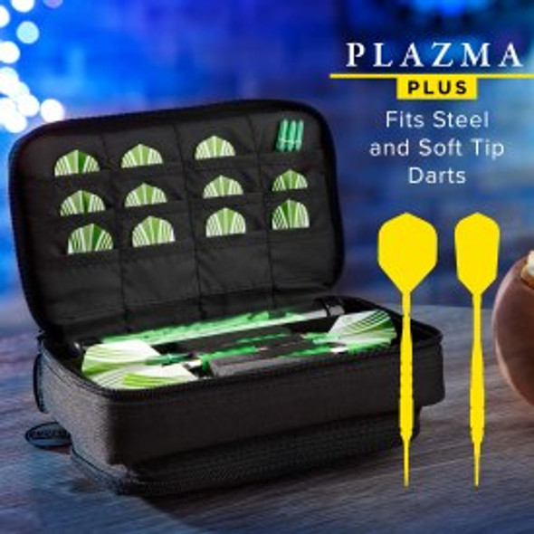 Casemaster Plazma Plus Dart Case Black & Black