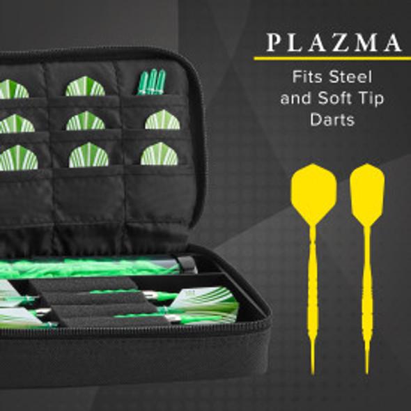 Casemaster Plazma Dart Case Black & Black