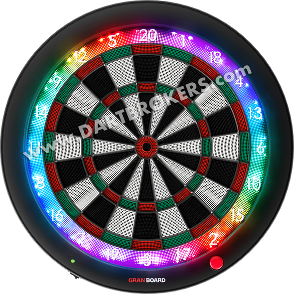GRAN BOARD 3s Bluetooth Electronic Dartboard Green SHIPS NOW!
