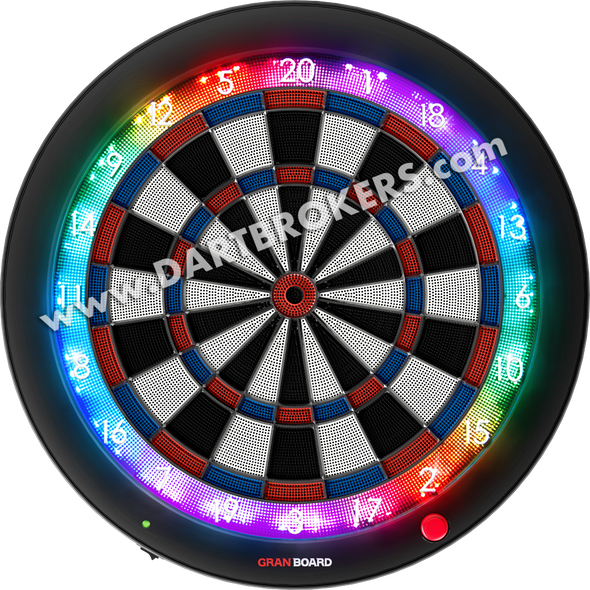 GRAN BOARD 3s Bluetooth Electronic Dartboard Blue SHIPS NOW!