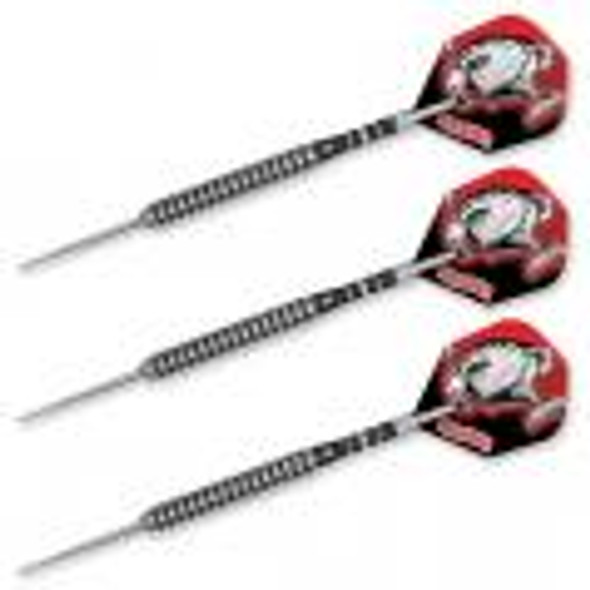 Harrows PIRANHA -  90% Steel Tip Darts - 28g