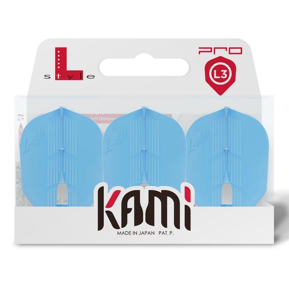 L-style KAMI Champagne Flights - Small Standard Light Blue