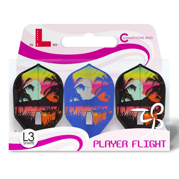 L-Style L3c Mayu Shimizu Champagne Flights - Mix color