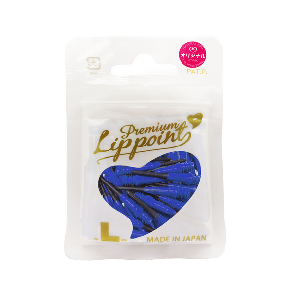 L-Style Premium Natural 9 Lippoints -Blue on Black