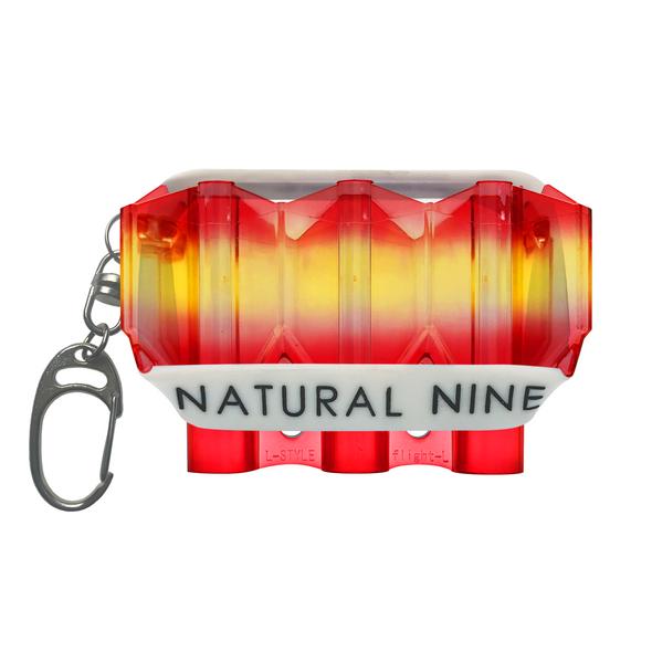 L-Style Krystal Flight Case  Natural Nine Tri Color Mango