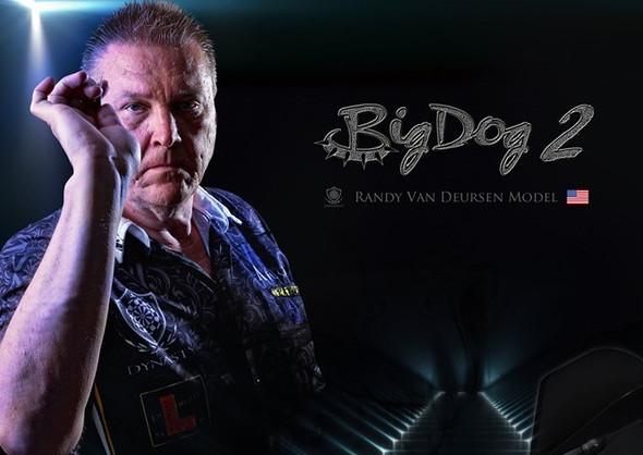"Dynasty ""Big Dog 2"" Randy Van Deursen Steel TIp Darts"