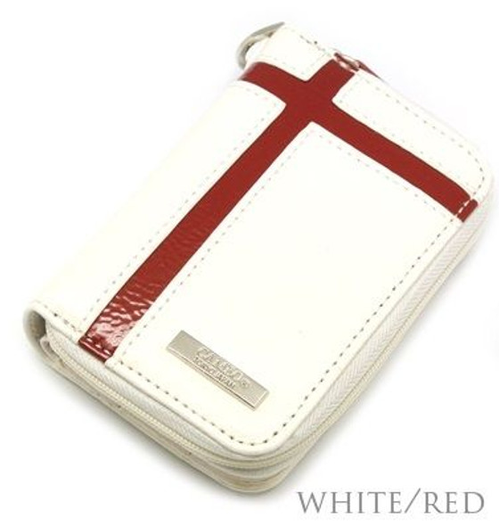 Cameo Crusie Krystal Pocket Dart Case - White with Red