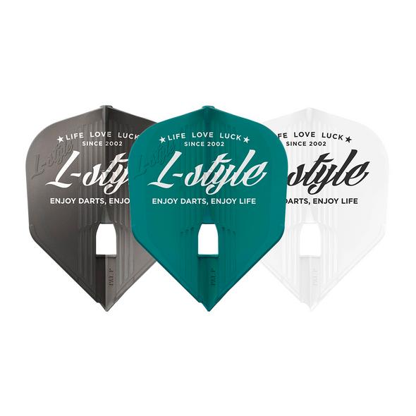 L-Style Vintage Logo  L3 KAMI Flights A Gun Metal-Green-White